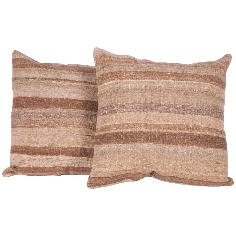Pillows Made Out of a Mid-20th Century Mazandaran Region La Haf
