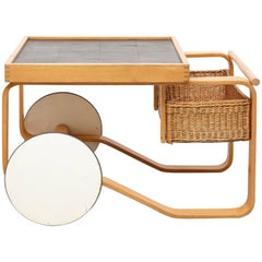 Alvar Aalto Tea Trolley Model 900
