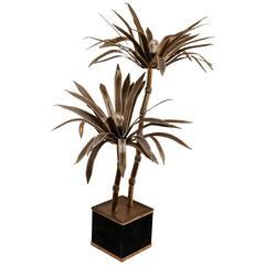 20th Century Maison Jansen Palm Tree Floor Lamp