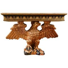 20th Century Eagle Console Table According to a Design by William Kent