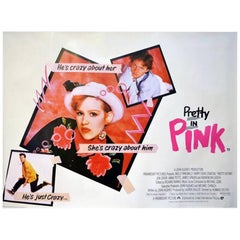 """""""Pretty In Pink"""" Film Poster, 1986"""