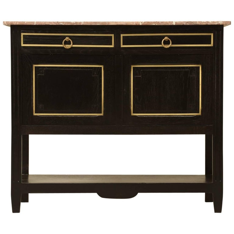 French Louis XVI Style Server For Sale