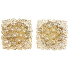 Pair of Champagne Bubble Sconces by Helena Tynell