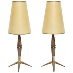 Carl Auböck Attributed Table Lamps