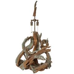 Large Organic Driftwood Lamp