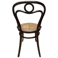 Thonet  bentwood Chair nr 31 Stamped and Labeled by Thonet, 1890