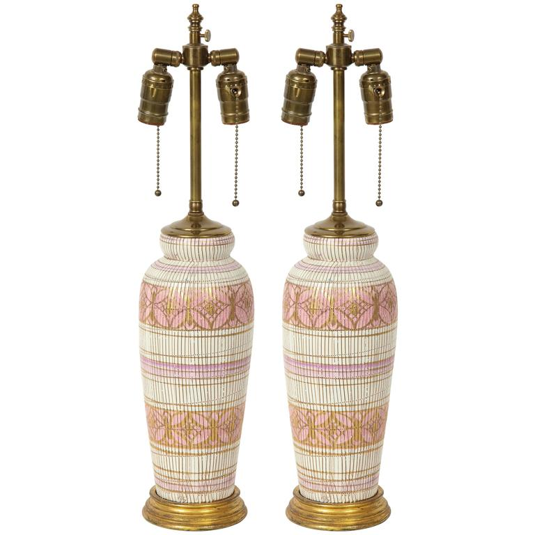 Aldo Londi/Bitossi Ceramic Lamps 1