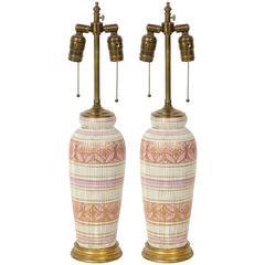 Aldo Londi/Bitossi Ceramic Lamps