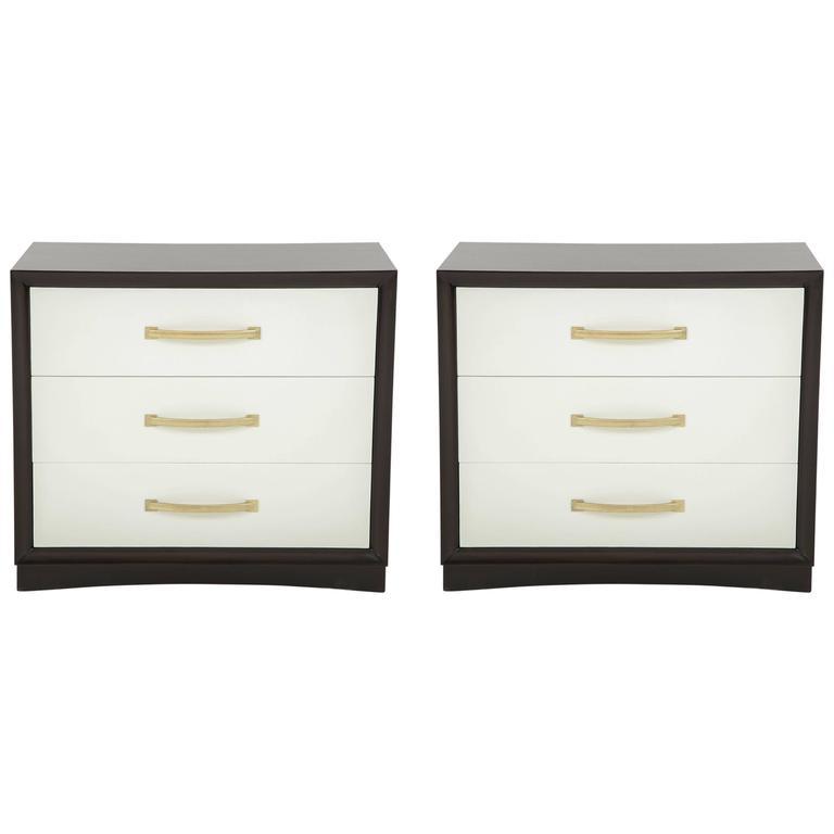 Pair of Robsjohn-Gibbings Chest of Drawers For Sale