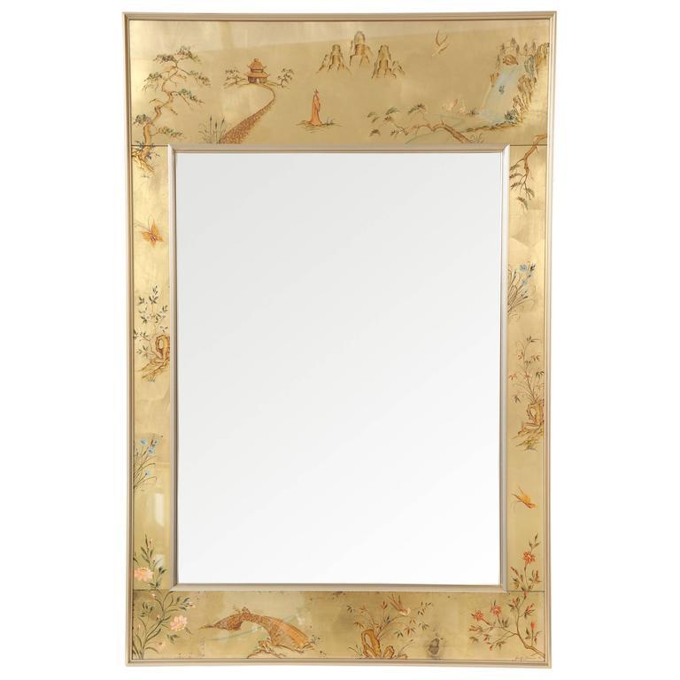La Barge Chinoiserie Mirror