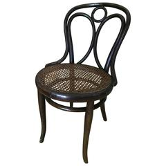 Thonet bentwood  Chair nr 19 Original Patina Stamp by Thonet, 1890