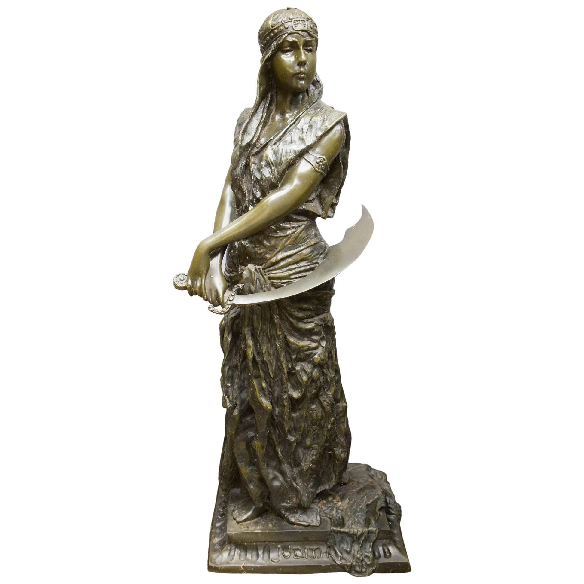 Bronze Standing Figure of Judith