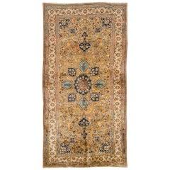 Vintage Woven Persian Mashad Rug