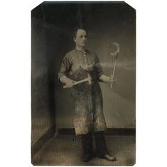 Occupational Tintype Ferrier Ironsmith