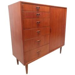 Mid-Century Modern Danish Teak Gentleman's Chest