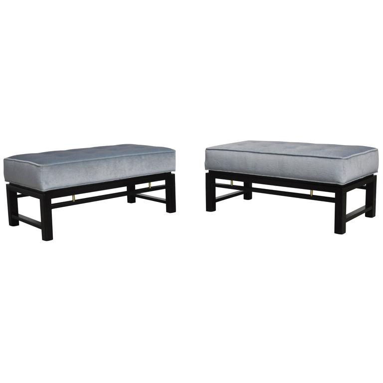 Pair of Dunbar Benches, Edward Wormley 1