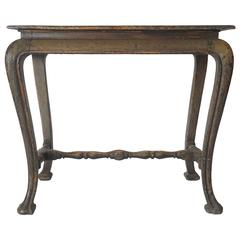 Spanish Baroque Painted Side Table in the Chinese Taste, circa 1700