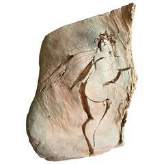 "Carved ""Cherub"" Sculpture by Reuben Nakian"