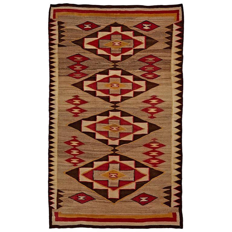 navajo rug coloring page - exceptional red mesa navajo rug circa 1930s at 1stdibs