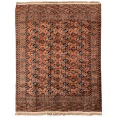 Beautifully Designed Vintage Bokara Rug