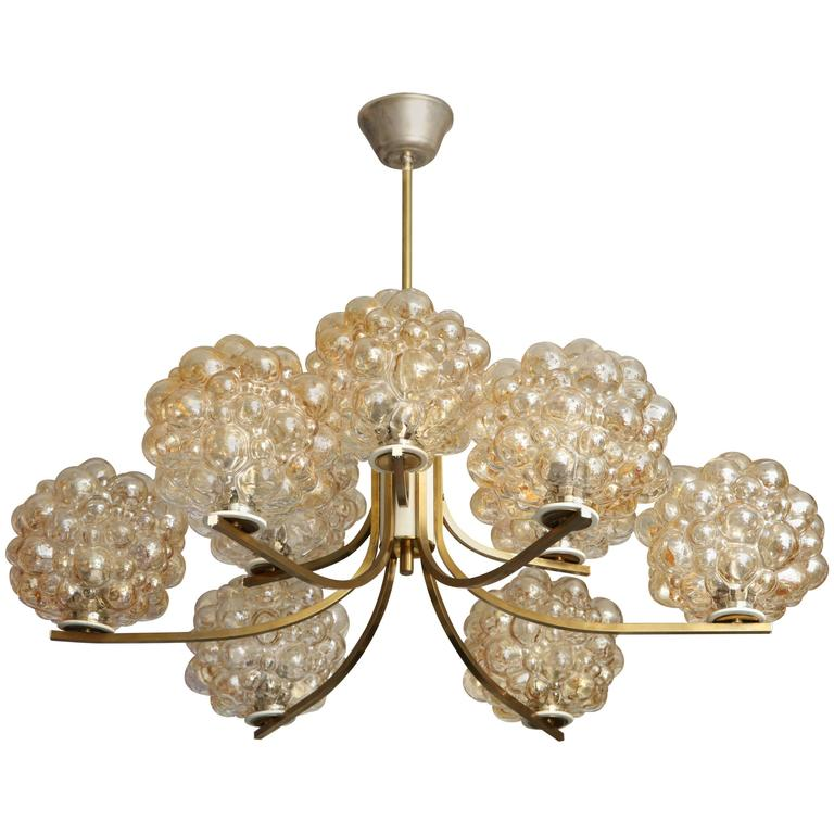 Vintage Limburg Chandelier by Helena Tynell For Sale