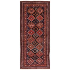 Beautifully Woven Antique Bakhtiary Rug