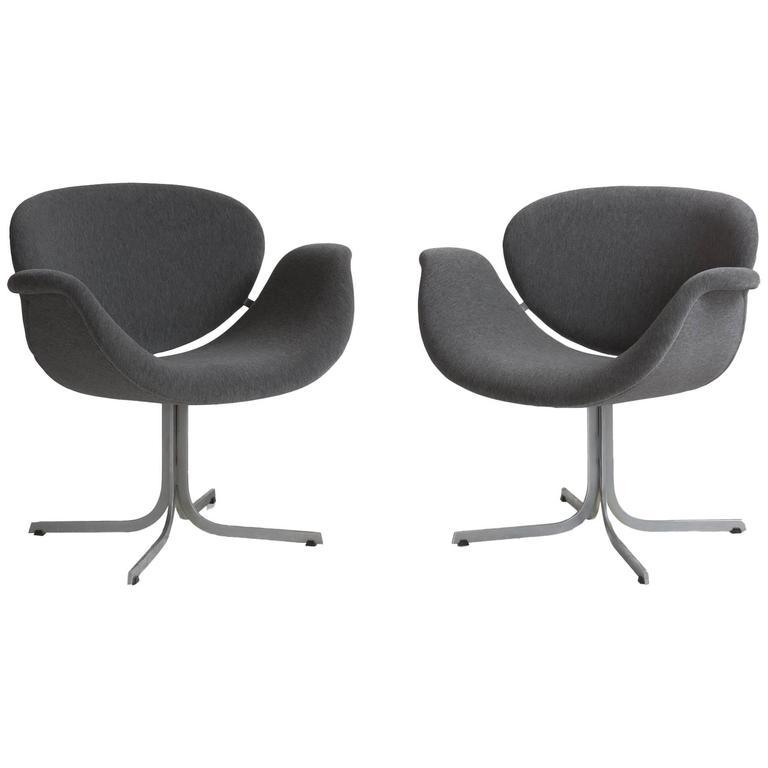 Pair of Pierre Paulin Tulip Chairs 1
