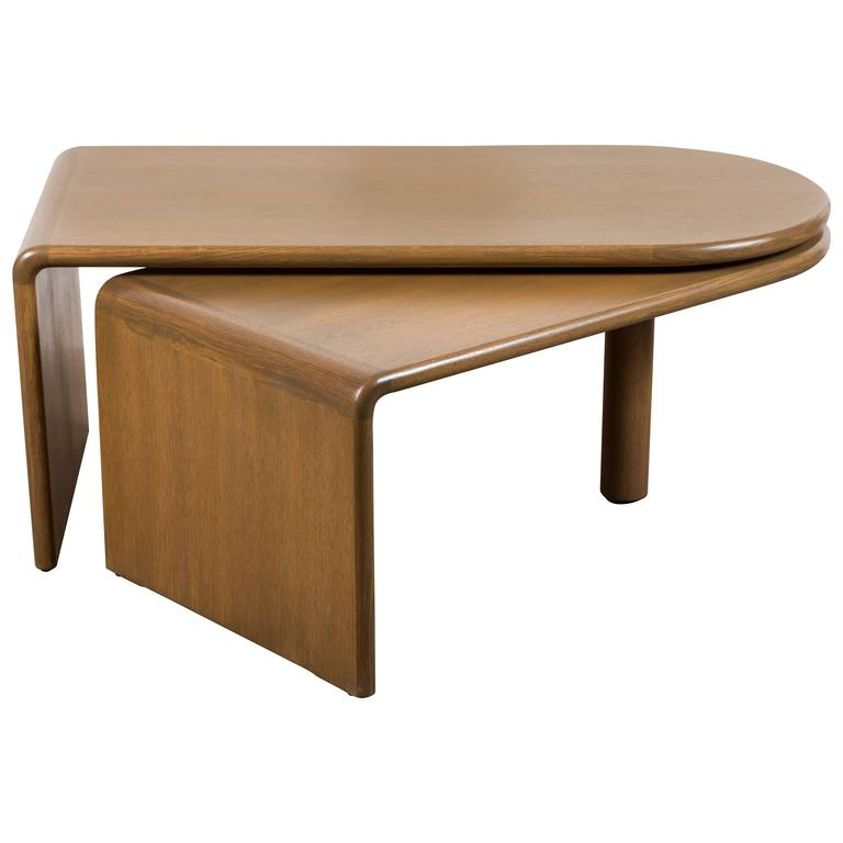 Fanette Foldable Coffee Table By Guillerme Et Chambron For Sale At 1stdibs