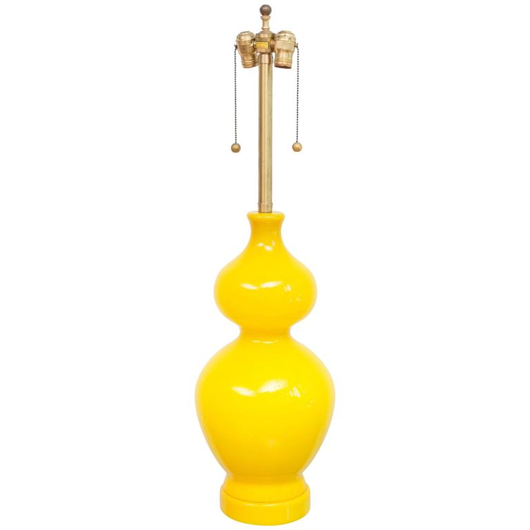Marbro Italian Glass Lamp 1