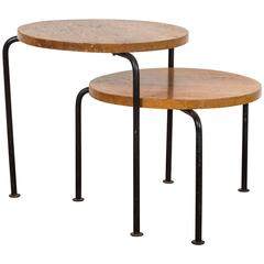 Pair of Nesting Tables by Luther Conover