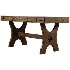 Greywashed Oak Ojai Desk by Lawson-Fenning