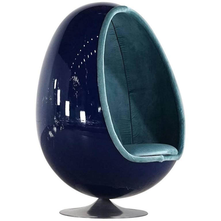 Thor larsen ovalia egg chair original 1968 by for torlan for Egg chair original