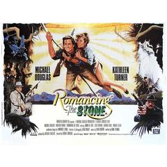 """""""Romancing The Stone"""" Film Poster, 1984"""