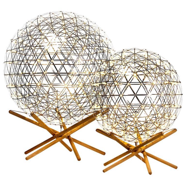 Moooi Raimond Tensegrity LED Floor Lamp by Raimond Puts For Sale