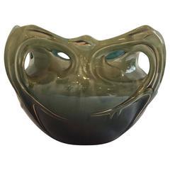 Hector Guimard 1900s Ceramic Jardinière