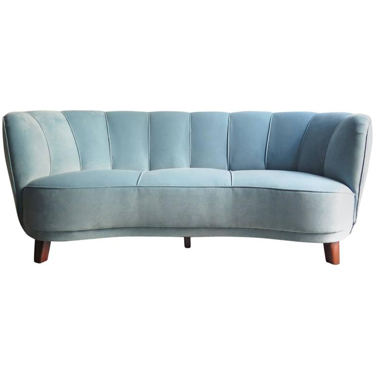 Blue velvet sofa blue velvet sofa for sale sofa designs for Blue sofas for sale