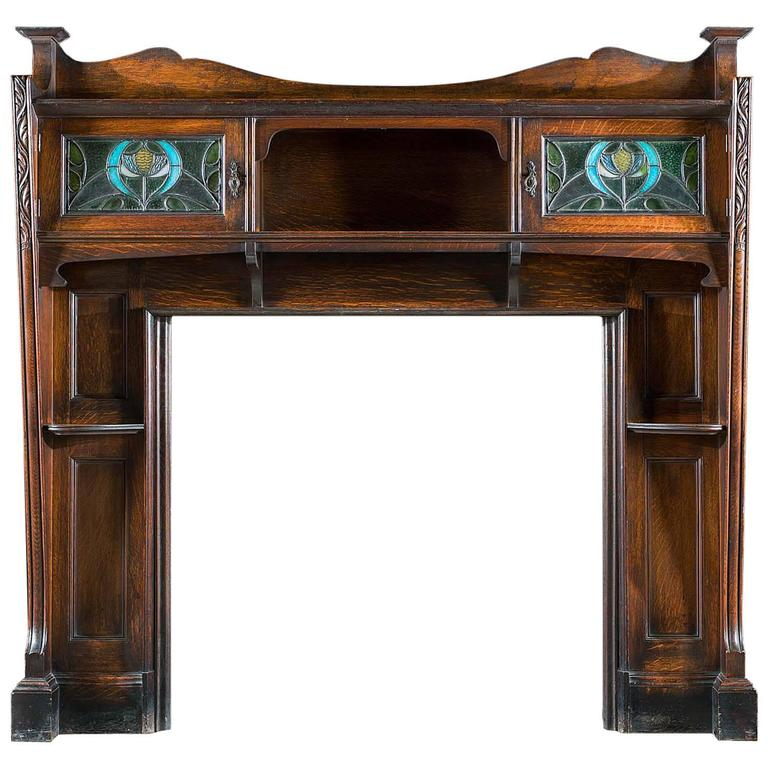 Arts And Crafts Fire Surround For Sale At 1stdibs