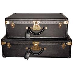 Special Edition Louis Vuitton Epi Black Leather Luggage