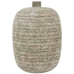 Monumental Pottery Vase by Claude Conover Titled Izapa