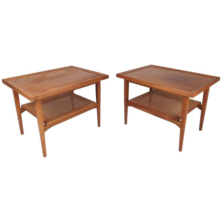 Mid-Century Modern Drexel Declaration End Tables