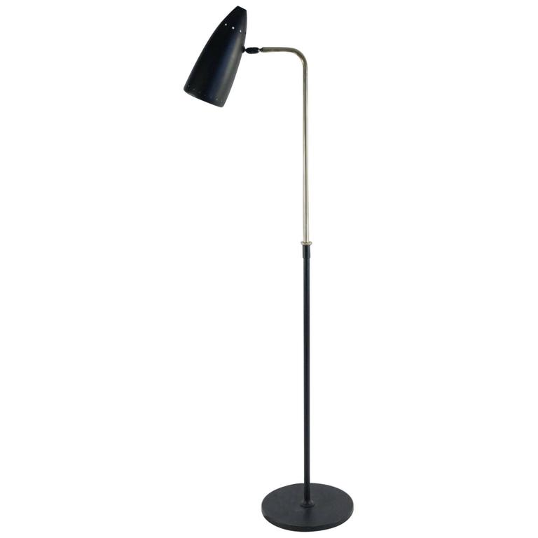 1950s, Floor Lamp in the Style of Pierre Guariche