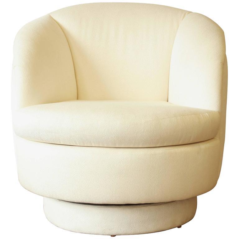 Milo Baughman for Thayer Coggin Swivel Club Chair