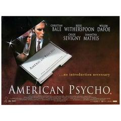 """American Psycho"", Film Poster, 2000"