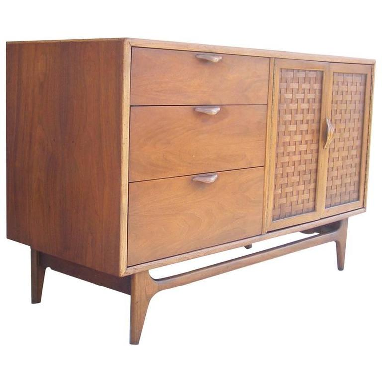 Vintage Mid Century Credenza By Warren Church Lane Furniture For