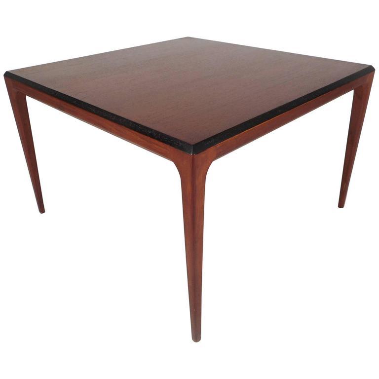 Mid-Century Modern Walnut Coffee Table For Sale