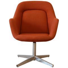 Max Pearson for Knoll Swivel Club Chair, 1979