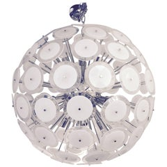 Vistosi Style Giant Disc Chandelier