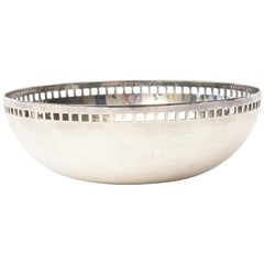 Richard Meier for Swid Powell Skyscraper Silver Plate Bowl