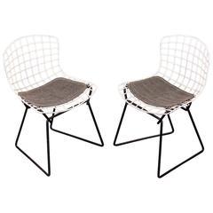 Pair of Baby Bertoia Chairs