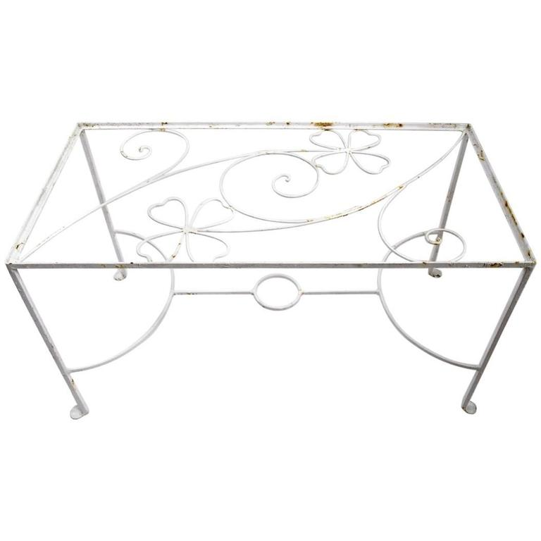 Wrought Iron Table attributed to Weinberg